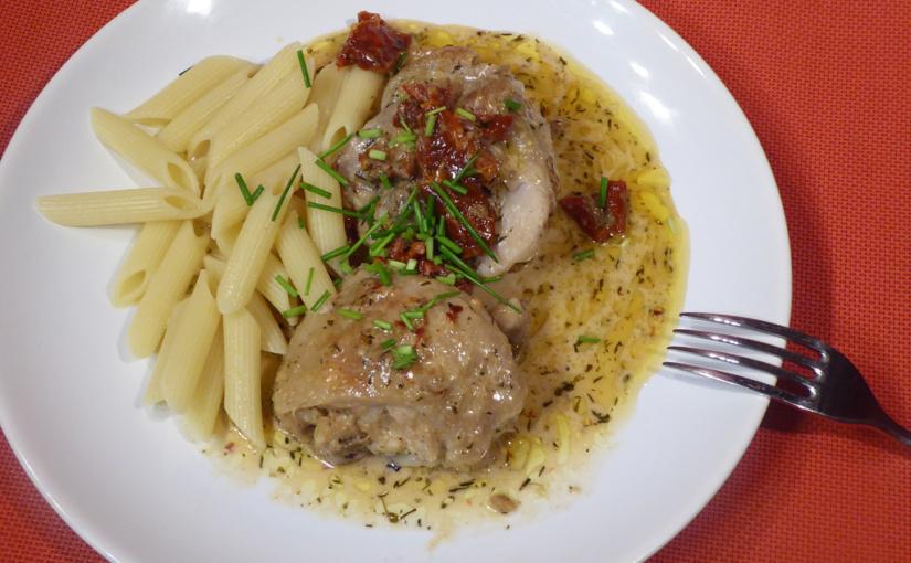 Smetanové kuře | Lehká záležitost