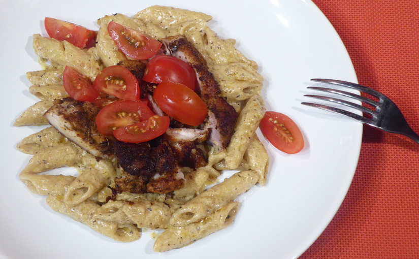 Pasta with chicken,cs | Rychlá večeře