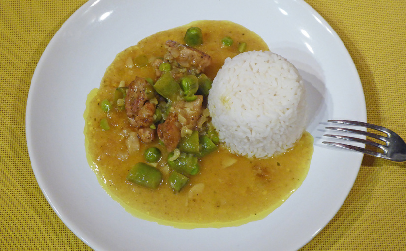 chicken curry,,cs,Quick dinner for two,,cs | Rychlá večeře pro dva