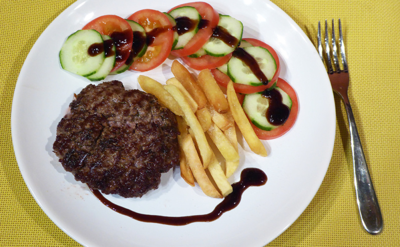 Greek burger,,cs,Hamburger inspiration from & nbsp; holiday,,cs | Hamburgerová inspirace z dovolené
