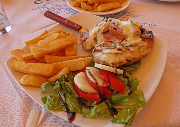 Chicken wave přímo na Corfu