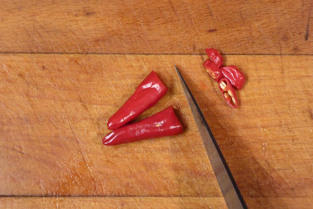 Nakrájíme chilli