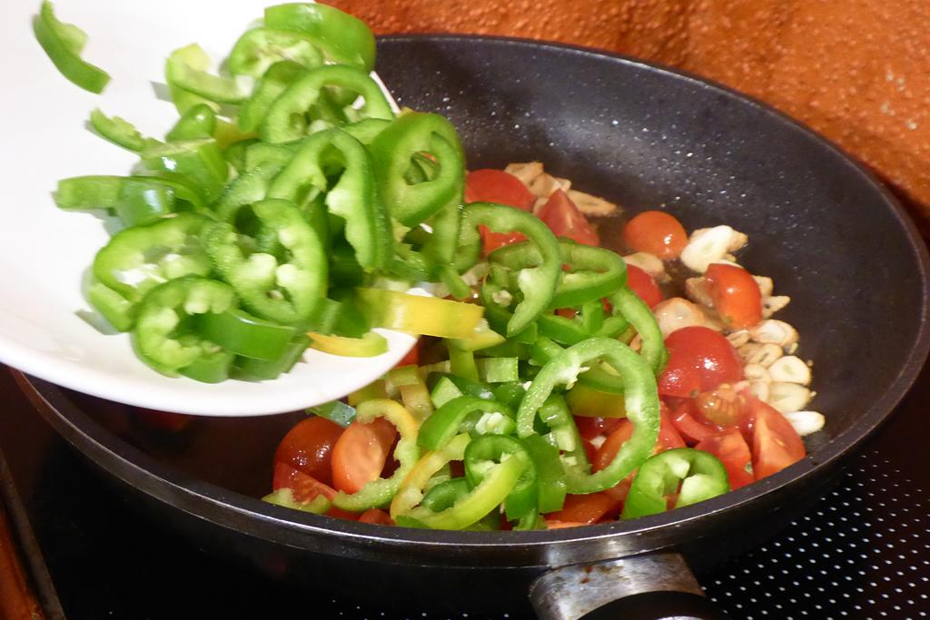 Přidáme papriky