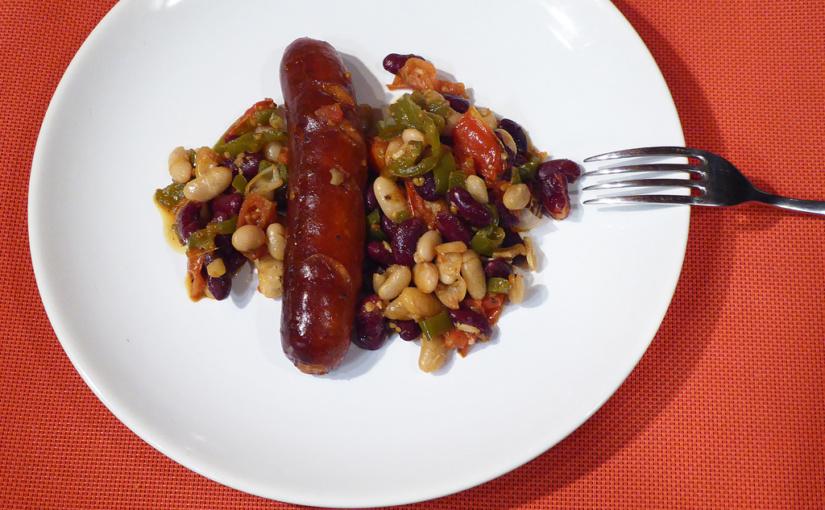 Klobása spikantními fazolemi | Toskánská inspirace