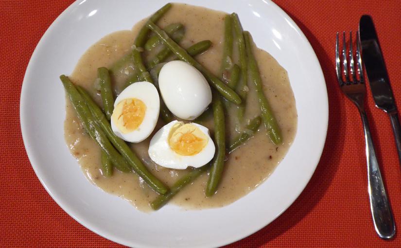 Fazolky na kyselo s vejcem | Tentokrát bez masa