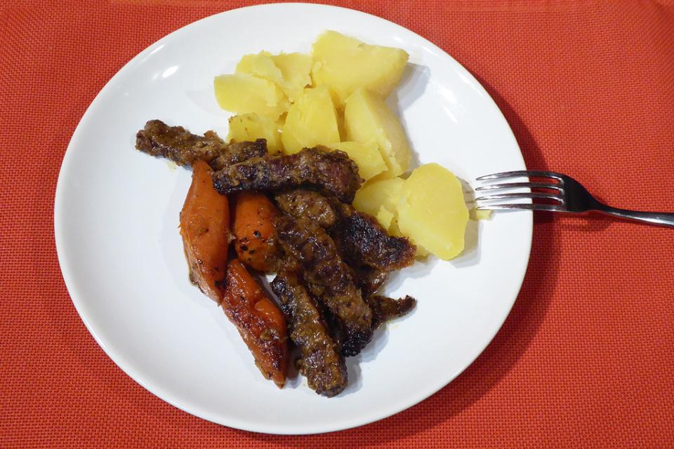 Irské hovězí dušené s mrkví