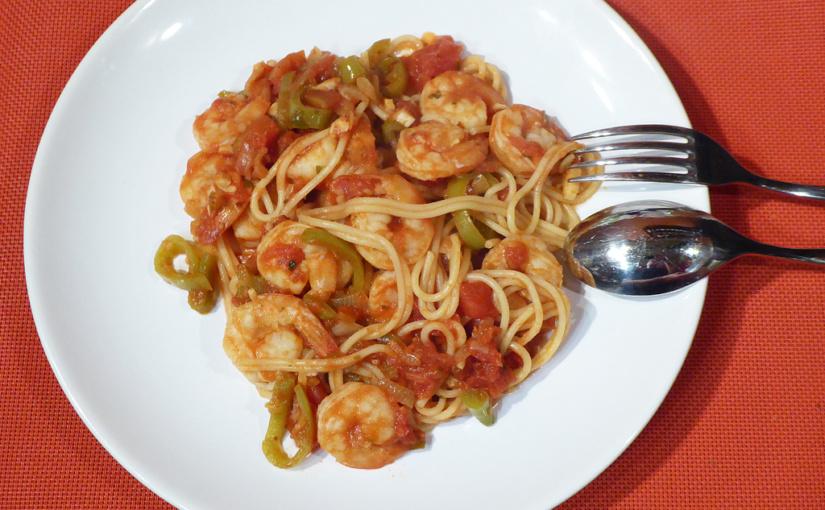 Krevety srajčaty ašpagetami | Tak a zase jinak | Snadná večeře | Pikantní záležitost