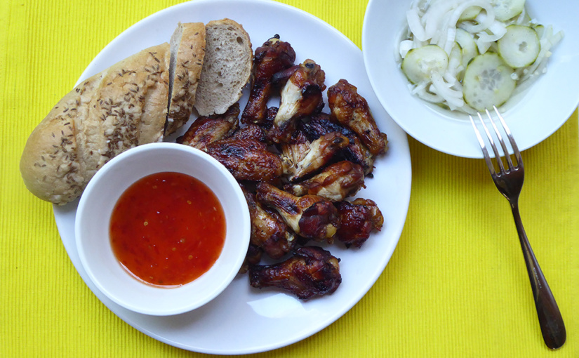 Fantastic chicken wings on Fant,,cs,This time with & nbsp; garlic,,cs | Why not try it?