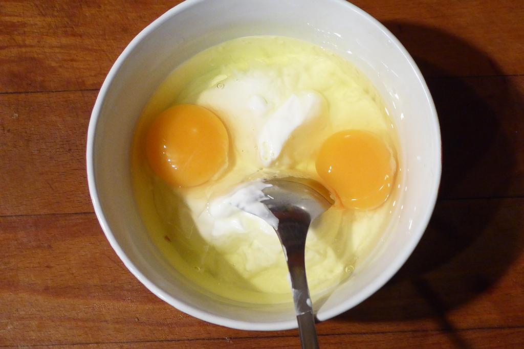 Smetana s vejci