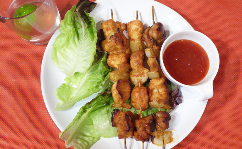 chicken kebab | So skewers, only, the chicken
