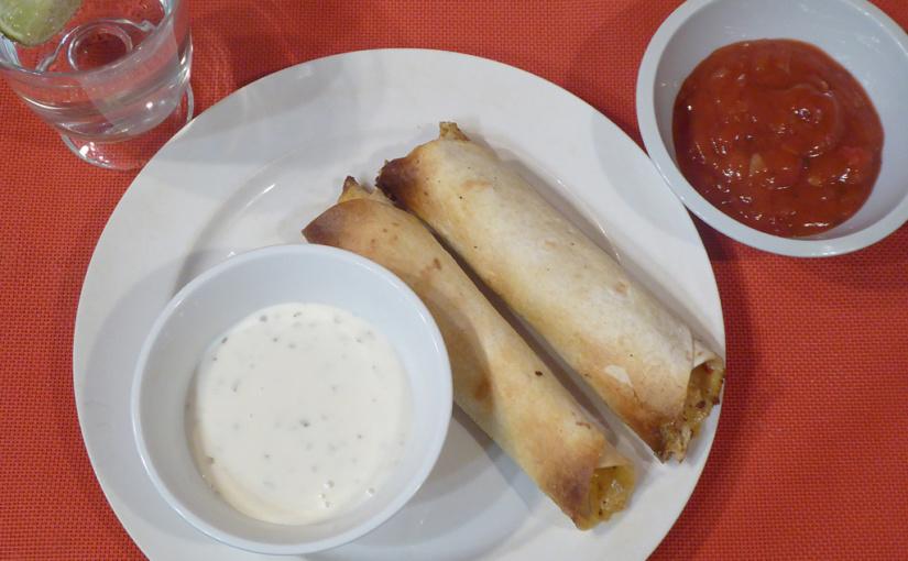 Tortillové kuřecí píšťaly | Kuřecí flautas | Taquito | Viva Mexico!