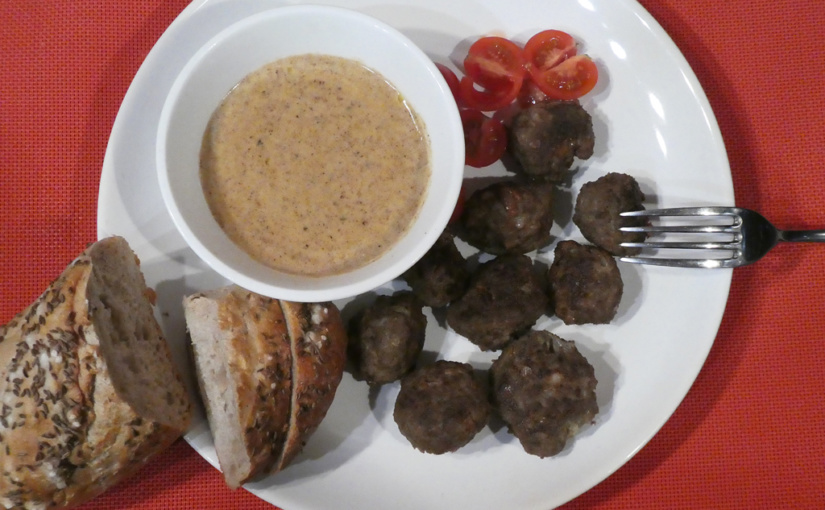 Meat balls | Since as from IKEA, but not quite