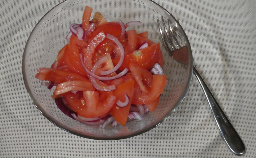 Rajčatový salát | Rychlá akce