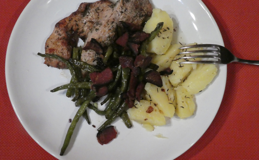 Turkey steaks with beans | Version 1.0.