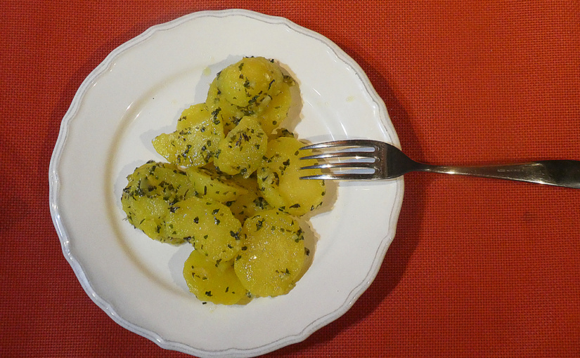 Butter potatoes / Great attachment