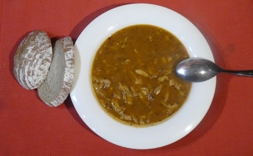 Tripe soup / Carried over the roots