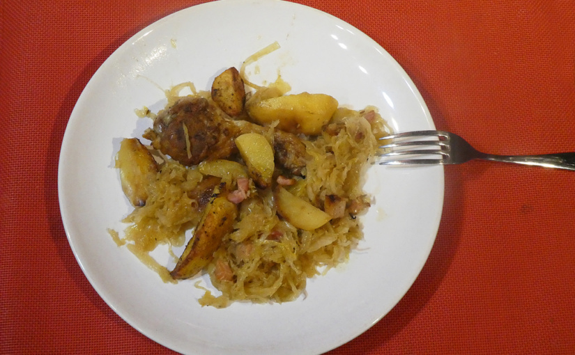 Leg of cabbage with potatoes | Alternative 2.0